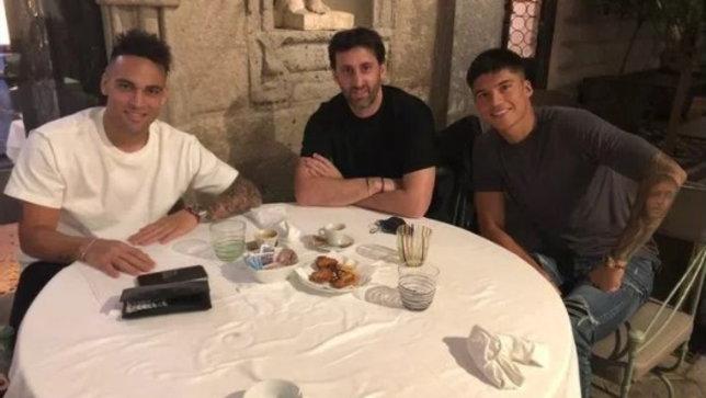 Lautaro e Correa a cena con Milito per prendersi l'Inter