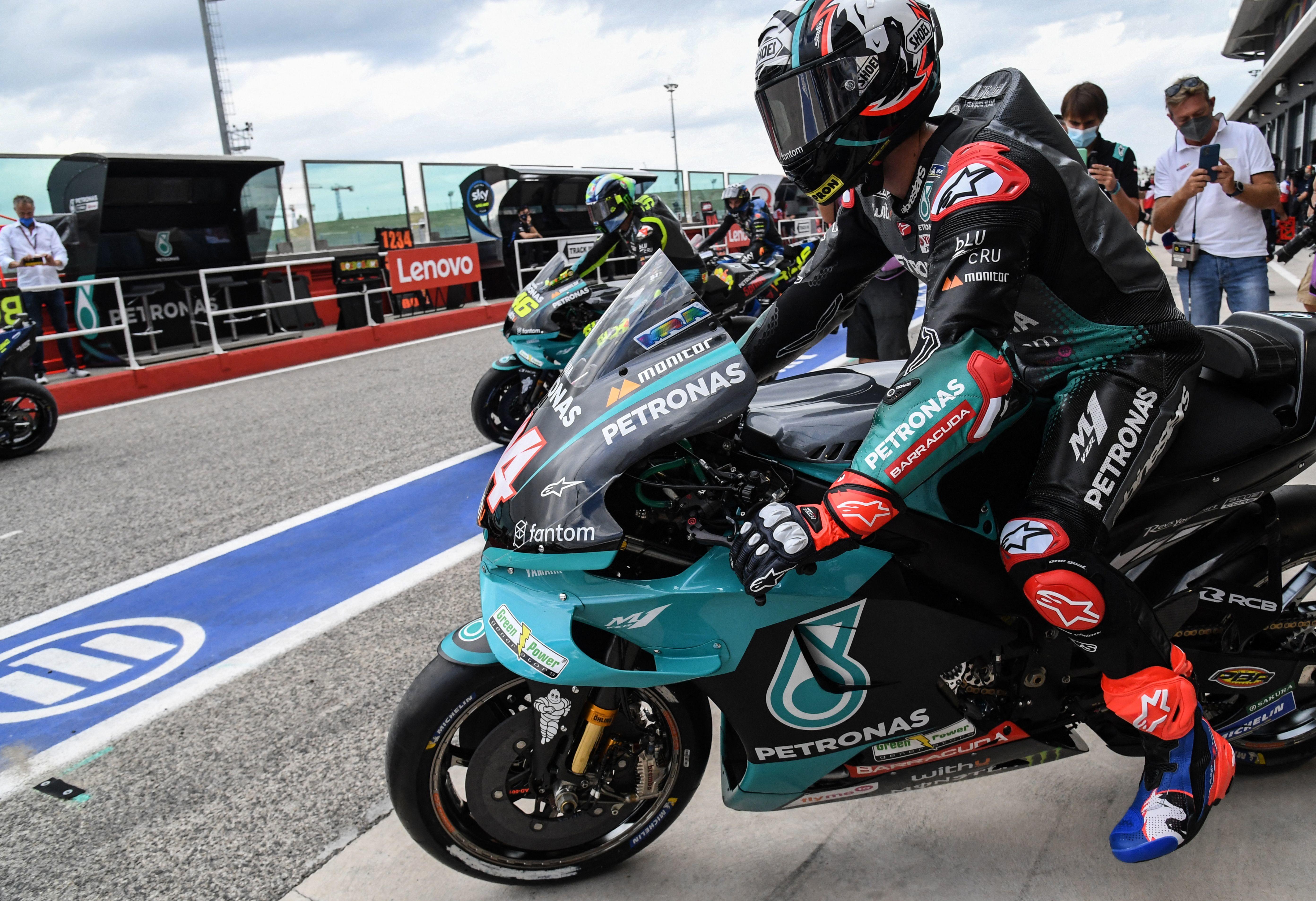 Prima giornata di prove libere a Misano in vista del GP di San Marino di MotoGP<br /><br />
