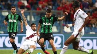 Serie A, Sassuolo-Torino 0-1: Pjaca decide nel finale