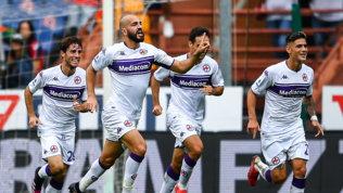 Saponara show contro il Genoa, Bonaventura-gol: la Fiorentina corre