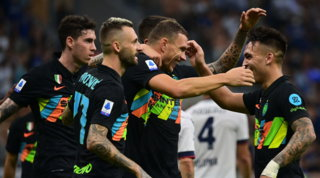 Inter incontenibile: 6 gol eshow a San Siro, Inzaghi vola in testa