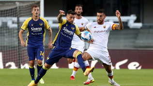 Verona-Roma, le immagini del match