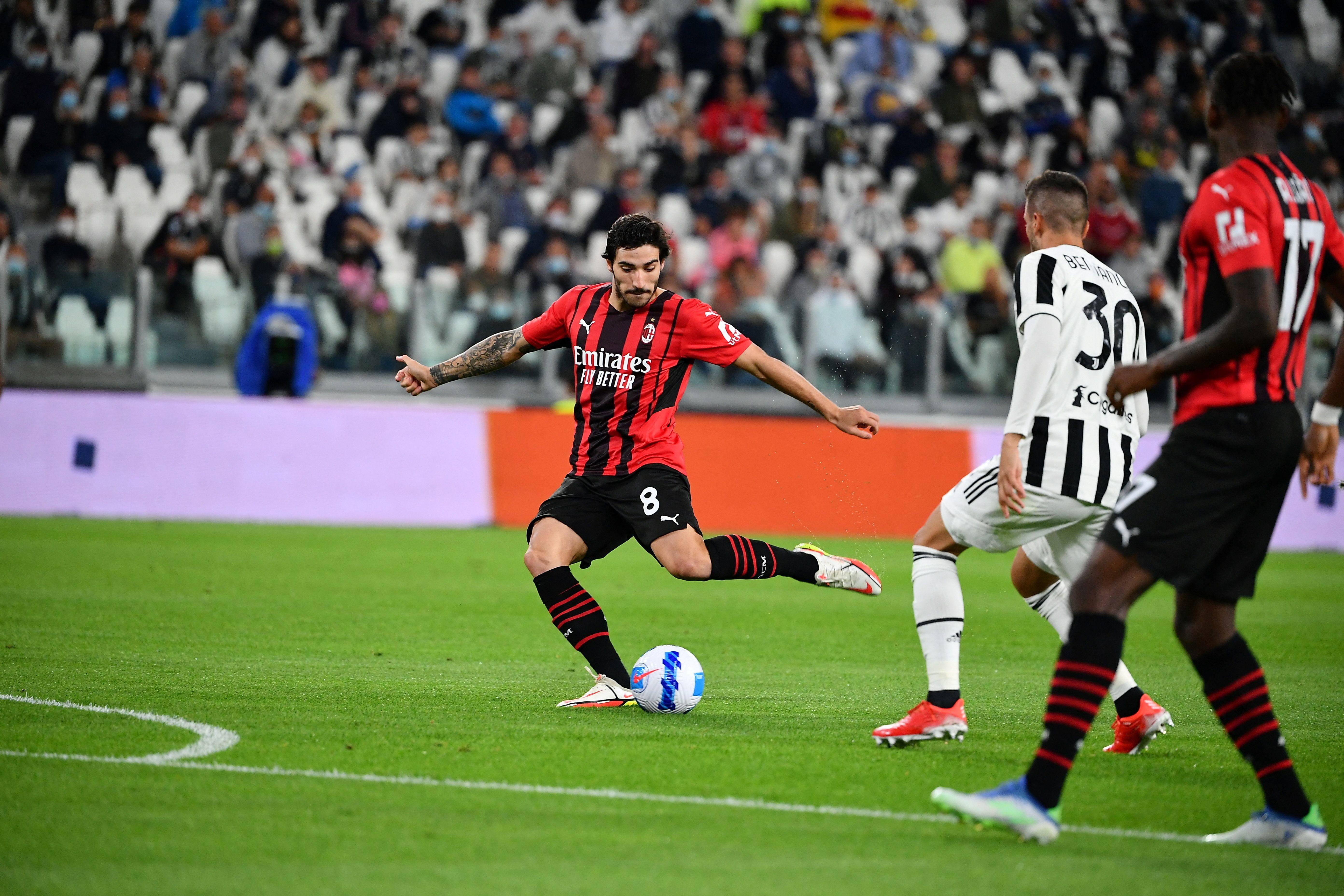 I migliori scatti di Juventus-Milan 1-1, big match della 4a giornata di Serie A.<br /><br />