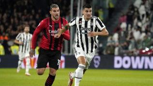 Rebic risponde a Morata: il Milan torna primo, la Juve non vince mai