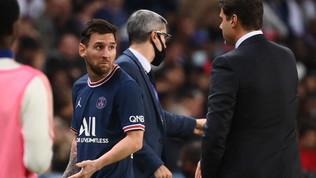 Icardial fotofinish e il Psg stende il Lione. Messi non gradisce il cambio