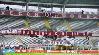"""Torino, curva vuota conla Juve: """"No alle restrizioni del Green pass"""""""