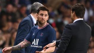 """Pochettino: """"Il cambio di Messi? Sono qui per prendere decisioni"""""""