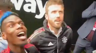 Il tifoso del West Ham lo insulta, Pogba risponde a modo suo| VIDEO