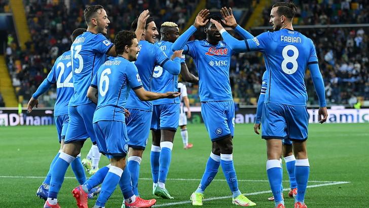 Lozano entra e firma subito il poker: Udinese-Napoli 0-4LIVE