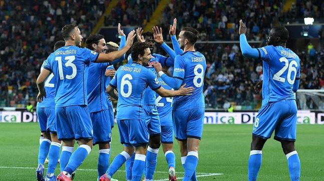 Spalletti dilaga a Udine e si guadagna la testa solitaria della Serie A