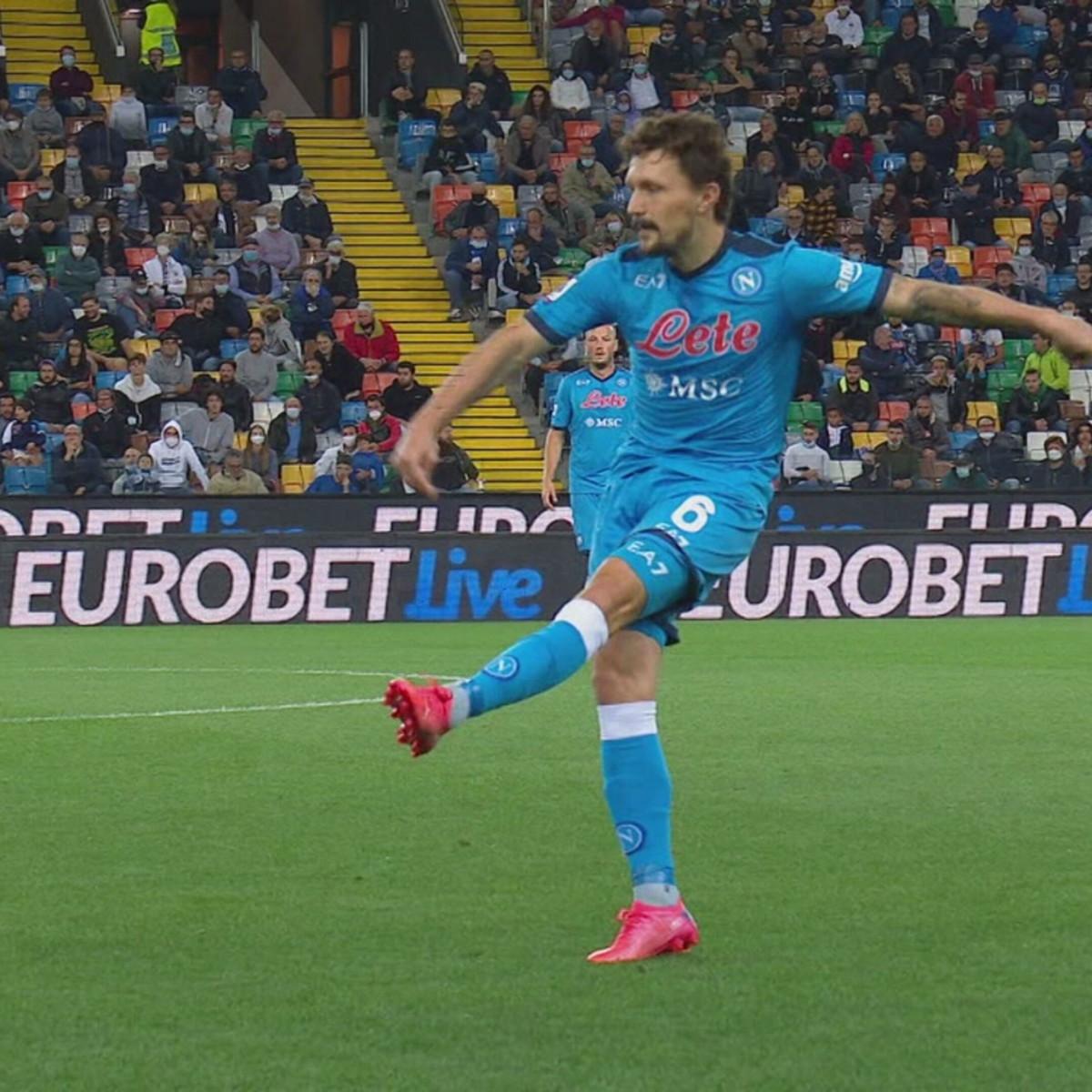 Udinese-Napoli 0-4: gli highlights