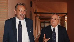 """Lotitodifende Sarri: """"Ci vuole pazienza, serve tempo per amalgamarsi"""""""