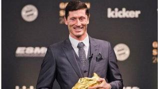 """Lewandowski Scarpa d'Oro: """"Voglio continuare a vincere e segnare"""""""