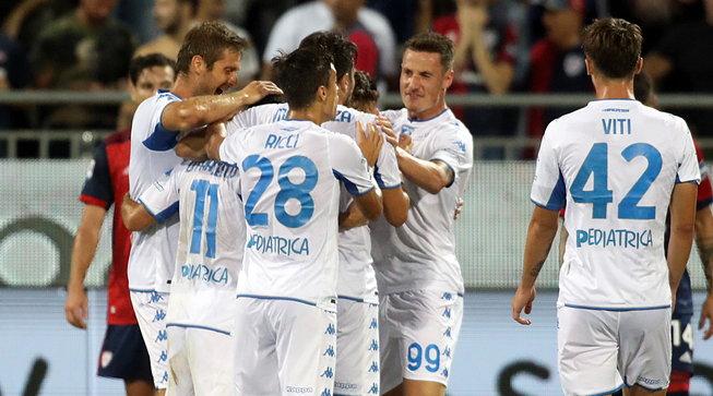 Di Francesco-Stulac: l'Empoli passa a Cagliari