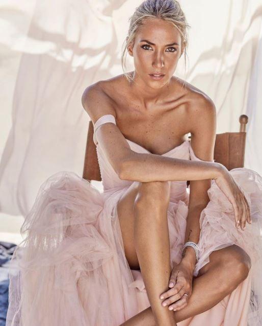 Alice Campello si sente una principessa: la moglie di Morata posta su Instagram uno scatto con un vestito da mille e una notte. &quot;Un vestito da principessa, come piace a me&quot; si legge.<br /><br />