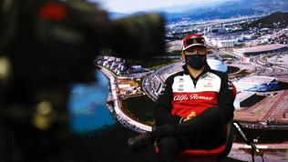"""Raikkonen torna in pista a Sochi dopo il Covid: """"Nessuna emozione"""""""