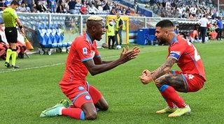 Assist di Lozano e un'altra doppietta per Osimhen: Sampdoria-Napoli 0-3LIVE
