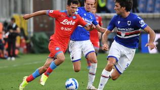 Sampdoria-Napoli, le immagini del match