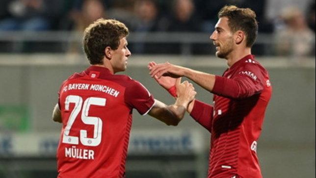 Bayern in scioltezza con il Fürth e capolista solitario