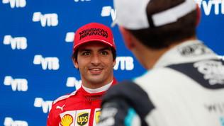 """Sainz: """"Siamo forti, voglio passare Norris"""". Leclerc: """"Darò il massimo"""""""