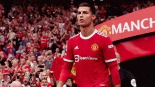 """Ronaldo scuote lo United: altra gaffe social dopo """"Grazzie"""""""