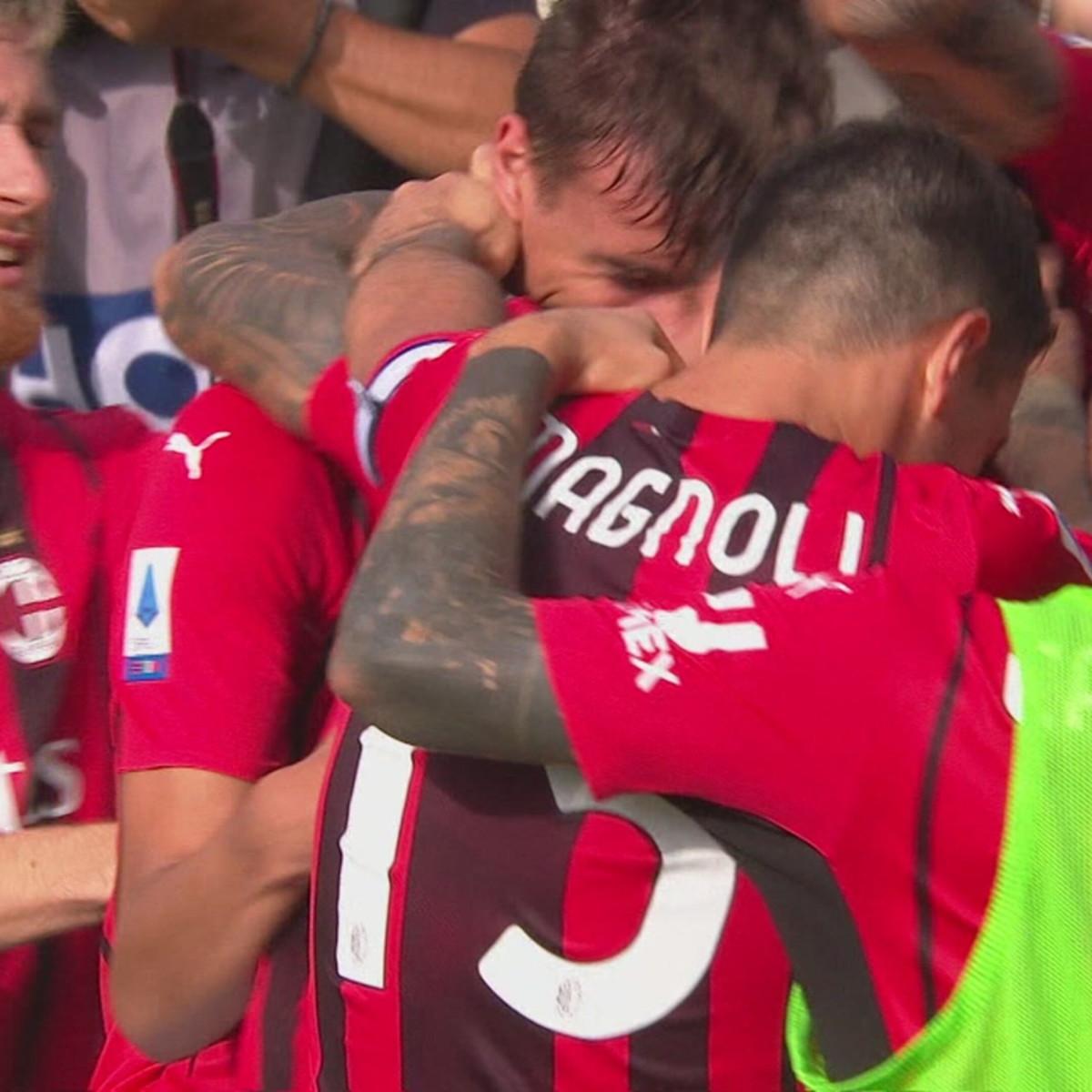 Spezia-Milan 1-2: gli highlights