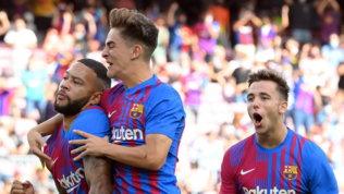 Depay trascina il Barcellona, Koeman ritrova la vittoria