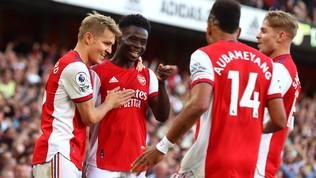 L'Arsenalcontinua la risalita e travolge il Tottenhamnel derby delle decadute