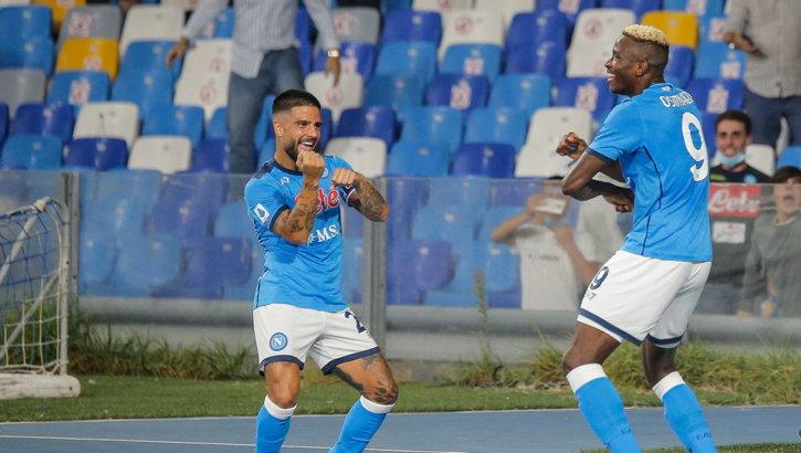 Napoli balla con Osimhen-Insigne: Spalletti fa 6 su 6 e torna in vetta