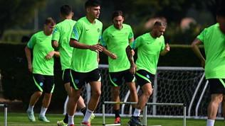Inzaghi ritrova Correa e Vidal per la sfida con lo Shakhtar