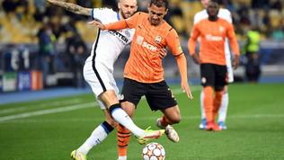 Shakhtar-Inter, le immagini del match
