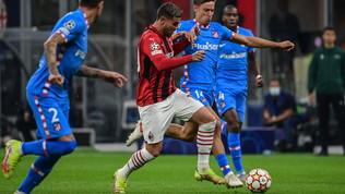 Milan-Atletico in Champions: le foto del match