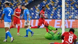 Elmas e Osimhen non bastano, colpo Spartak: primo ko per Spalletti