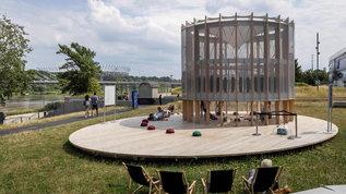 AirBubble: il parco giochi capace di fornire aria pulita grazie alle alghe
