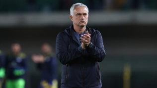 """Mou, messaggio ai tifosi dopo il derby: """"Pellegrini? Giusto per entrambi"""""""