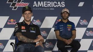 "Quartararo: ""Manca potenza"". Marquez: ""Sarà una gara dura, Ducati forte"""
