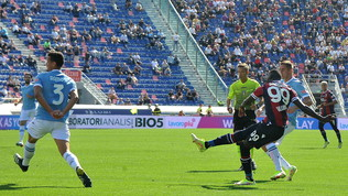 Tris Bologna alla Lazio