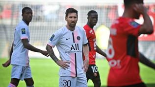 PSG con Messi e Donnarumma ma arriva il primo ko stagionale