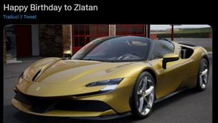 Ibra si regala una FerrariSF90 Stradale: 430.000 euro e 1000 cavalli