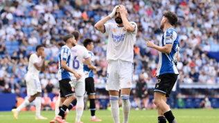 Il Real perde e si fa raggiungere in vetta da Atletico e Real Sociedad