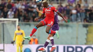 Fiorentina-Napoli, le immagini del match