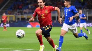Italia-Spagna, le immagini del match