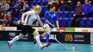 Le ragazze della nazionale di Floorball ai mondiali di Uppsala