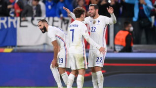 Francia, che rimonta da 0-2 a 3-2: Theo stende il Belgio al 90', ora la Spagna
