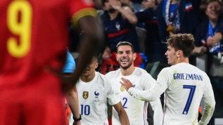 Magic moment Theo Hernandez, decisivo anche con la Francia