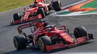 """Leclerc: """"Testa bassa, è solo venerdì"""". Sainzamaro: """"Passo da podio, peccato"""""""