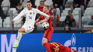 Lo juventinoRabiot positivo al Covid: salta la finale Spagna-Francia