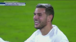 Theo Hernandez conquista anche la Francia