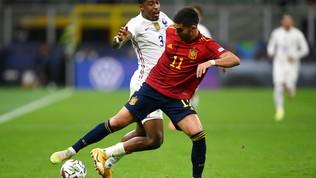 Spagna-Francia, le immagini del match