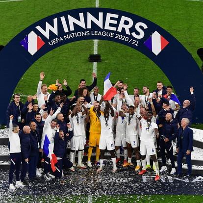 Benzema-Mbappé: la Francia rimonta anche la Spagna e vince la Nations League